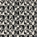 Little Eclipse Black & White Tapestry New World Designer Fabric Ideal For Upholstery Curtains Cushions Throws