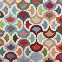 Big Carnival Tapestry New World Designer Fabric Ideal For Upholstery Curtains Cushions Throws