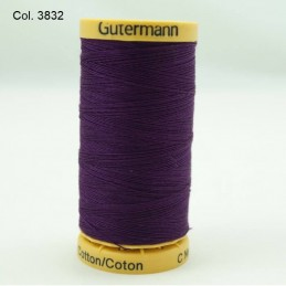 Gutermann Sewing Thread 100% Natural Cotton 250m Reels In 33 Colours (2)