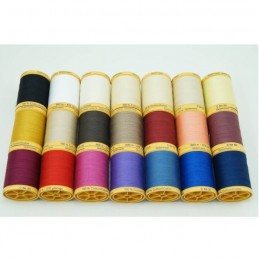 Gutermann Sewing Thread 100% Natural Cotton 800m Reels In 21 Colours (1)