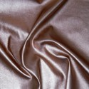 High Shine Metallic Stretch Leatherette Fabric Col 5 Dusky Pink