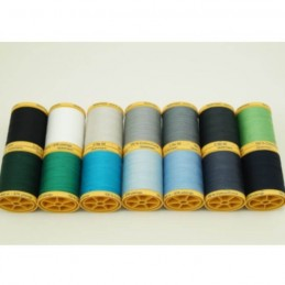 Gutermann Sewing Thread 100% Natural Cotton 800m Reels In 14 Colours (2)