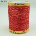 Gutermann Multi Tone Sewing Thread 100% Natural Cotton 800m Reels In 9 Colours (2)