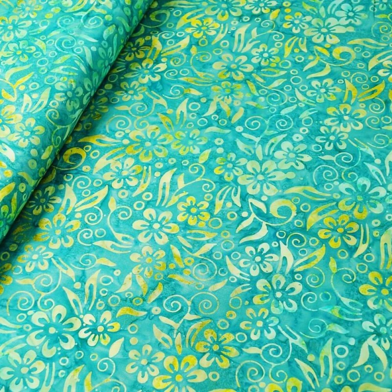 FAT QUARTER 4 BUNDLE Fabric Freedom 100/% Cotton MELODY FLORAL Craft Fabric