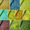 Fabric Freedom 100% Cotton Bali Batik Bubble Daisies Patchwork BK142