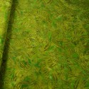 100% Cotton fabric Batik Bali Rain Forest Plants Swirling Palm Leaves Fabric Freedom BK144 Col. D
