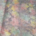 100% Cotton fabric Batik Bali Pastel Hibiscus Collection Palm Leaves Fabric Freedom BK145 Col. A