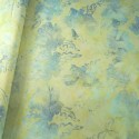 100% Cotton fabric Batik Bali Pastel Hibiscus Collection Palm Leaves Fabric Freedom BK145 Col. G