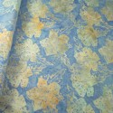 100% Cotton fabric Batik Bali Pastel Hibiscus Collection Palm Leaves Fabric Freedom BK145 Col. H