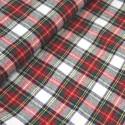 Dress Stewart 100% Brushed Cotton Fabric Tartan Wincyette Flannel Material