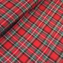 Royal Stewart 100% Brushed Cotton Fabric Tartan Wincyette Flannel Material