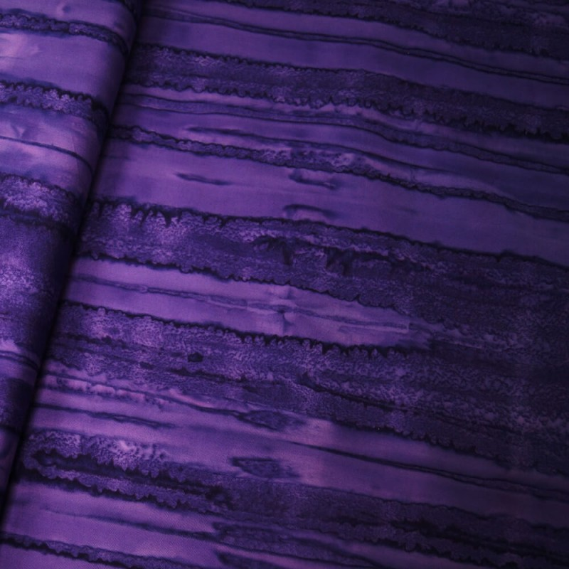 100% Cotton fabric Batik Bali One Tone Gradient Lines Fabric Freedom BK150 Col. J
