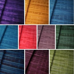 100% Cotton fabric Batik Bali One Tone Gradient Lines Fabric Freedom BK150