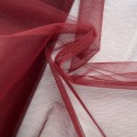 Dress Net Tutu Mesh Tulle Fancy Fairy Bridal Petticoat Material Fabric Burgundy