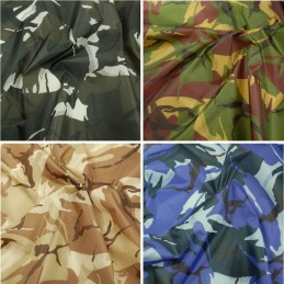 Ripstop Fabric Army Military Camouflage Waterproof Outdoor Water Resistant