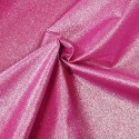 100% Cotton Glitter Sparkle Spangle Crystal Stardust Shimmer Fabric Cerise