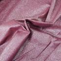 100% Cotton Glitter Sparkle Spangle Crystal Stardust Shimmer Fabric Dusky Pink