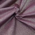 100% Cotton Glitter Sparkle Spangle Crystal Stardust Shimmer Fabric Burgundy