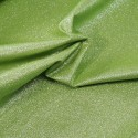 100% Cotton Glitter Sparkle Spangle Crystal Stardust Shimmer Fabric Lime