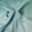 100% Cotton Glitter Sparkle Spangle Crystal Stardust Shimmer Fabric Dark Mint