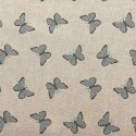 Cotton Rich Linen Fabric Curtain & Upholstery Dalmations