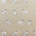 Cotton Rich Linen Fabric Curtain & Upholstery Wildlife Animals 40+ Designs