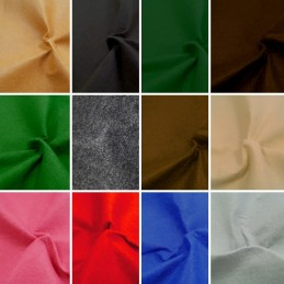 100% Polyester Craft Felt Fabric Material 100cm Wide 1mm Thick