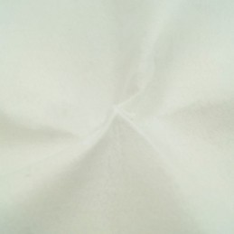 White 100% Polyester Craft Felt Fabric Material 100cm Wide 1mm Thick