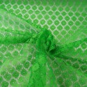 Emerald Dutch Lace Floral Flower 100% Polyester Fabric Bridal Dress Lace