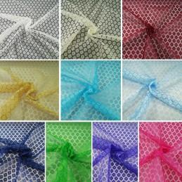 Dutch Lace Floral Flower 100% Polyester Fabric Bridal Dress Lace