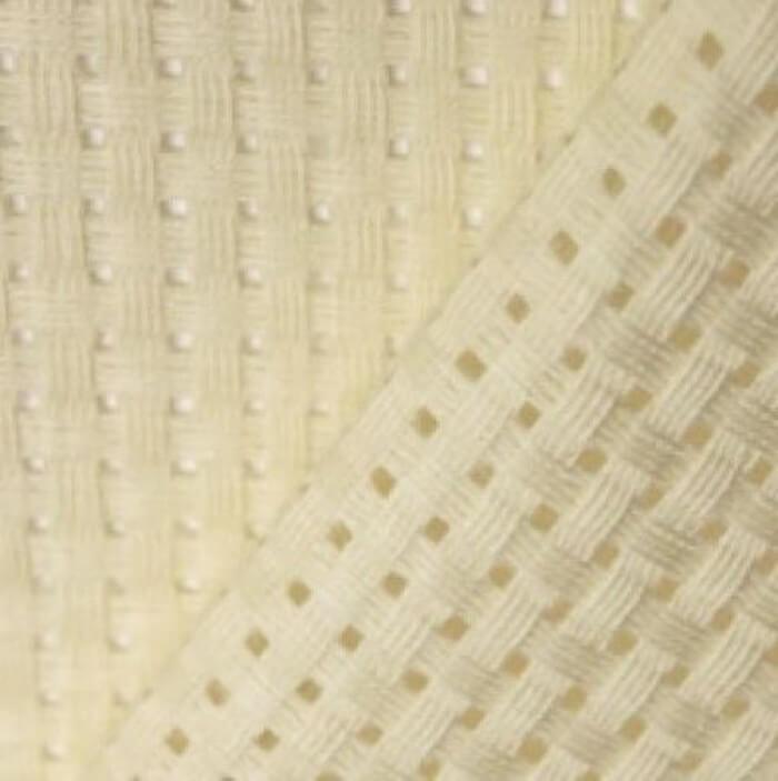 6 Count Binca Fabric 100% Cotton Cross Stitch