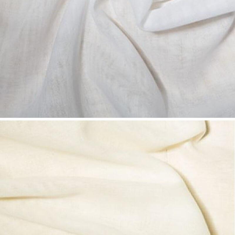 Cream Egyptian Muslin Fabric 100% Cotton