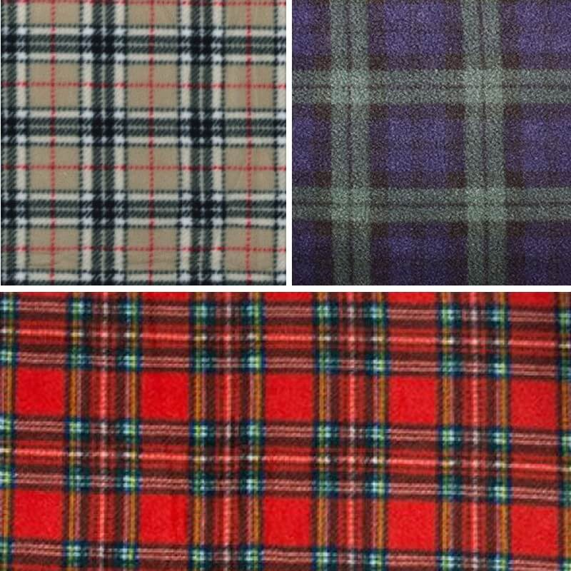 Royal Stewart Tartan Fleece Polar Anti Pil Fabric