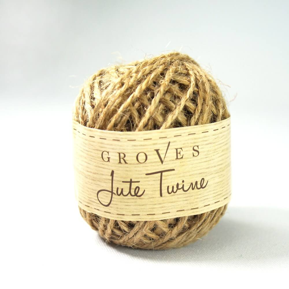 27 metre Spring Shades Jute Twine Cord Rope 2mm Pink