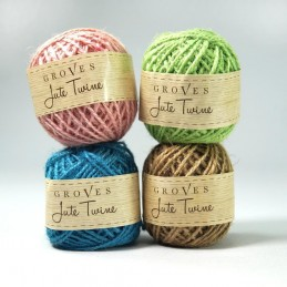 Spring Shades Jute Twine Cord Rope 2mm