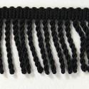Bullion Fringe 5cm Upholstery Curtains Fringing Chair Trim Multiple Colours Black