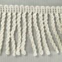 Bullion Fringe 5cm Upholstery Curtains Fringing Chair Trim Multiple Colours White