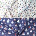 Sailor Rob's Sailing Boat Race Sea Ocean Waves Polycotton Fabric