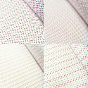 Polycotton Fabric 2mm & 5mm Polka Dots Rainbow Coloured Sensational Spots