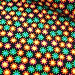 Elastique Stretch Fabric Swimwear Dance Wear Flower