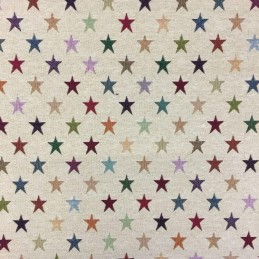 Lucero Stars Tapestry New World Designer Fabric Ideal For Upholstery Curtains Cushions Throws
