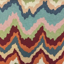 Mesta Wave Tapestry New World Designer Fabric Ideal For Upholstery Curtains Cushions Throws