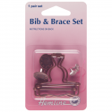 Bronze Hemline Bib and Brace Set 1 Pair In