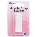 15mm Hemline Shoulder Strap Retainer White 1Set