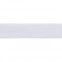 White Premium Quality Cotton Tape 14mm In 25 Colours