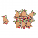 12 x Bells Christmas Decorations Embellishments