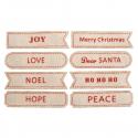 12 x Canvas Prints Merry Christmas Decorations Embellishments