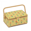 Small Rectangle Sewing Box Classic Collection Craft Storage Hobbygift Design 1 Meadow