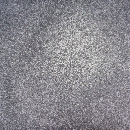 Flexible PU Sparkle Glitter Fabric Shimmer Pastel Christmas Xmas Festive Party Craft Col 6 - Grey