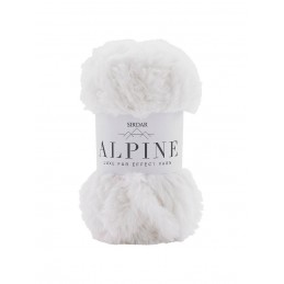 Sirdar Alpine Luxe Fur Effect Knitting Yarn Knit Craft 50g Ball Polar